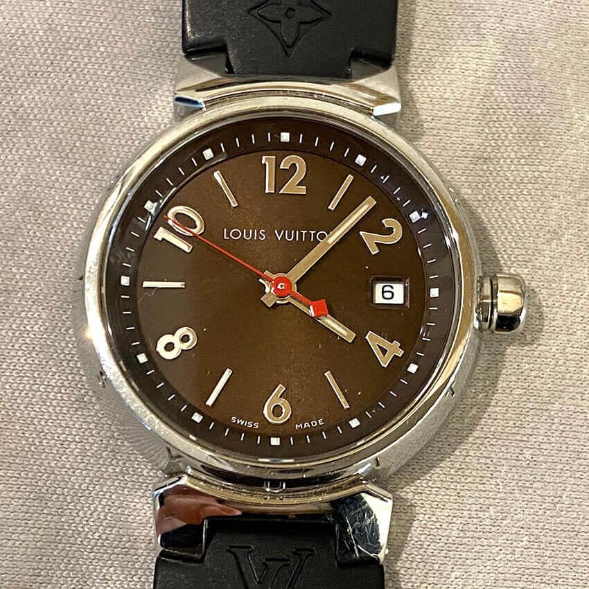 ルイ・ヴィトン時計の電池交換後
