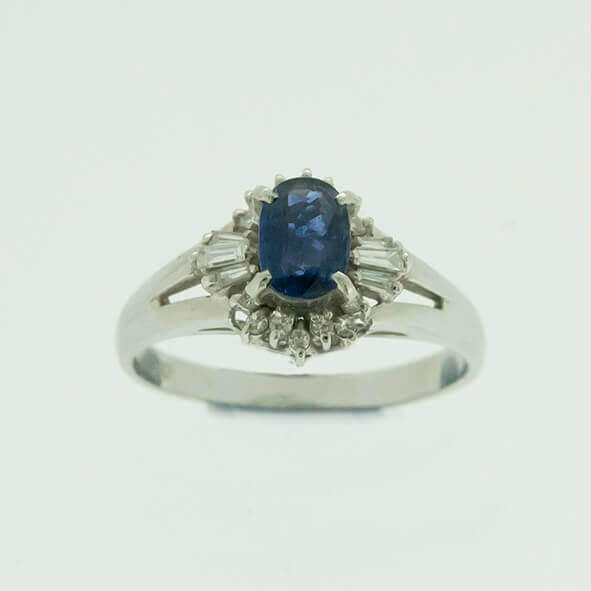 ある、ある、こんなサファイヤの指輪