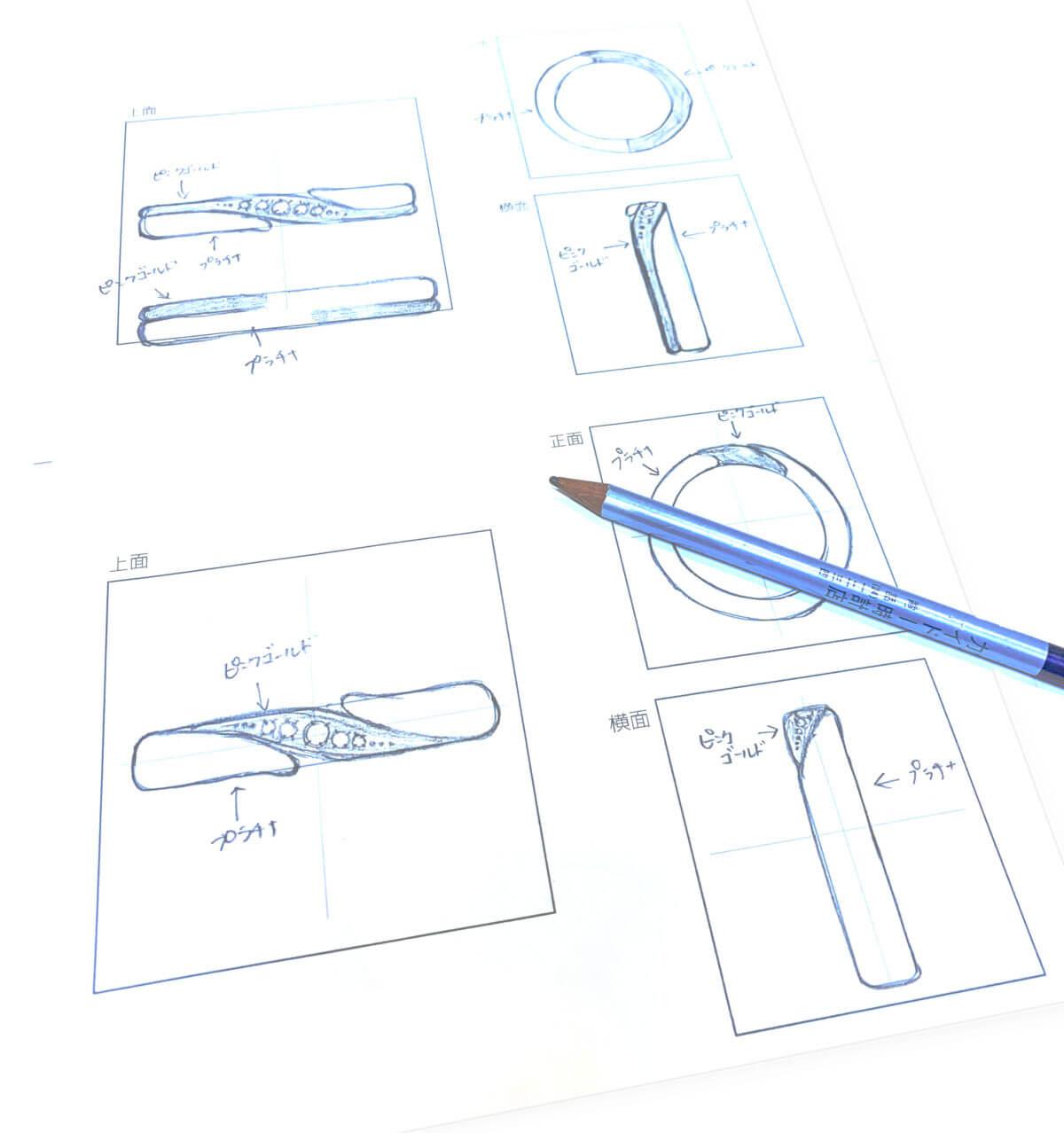 手書きデザイン