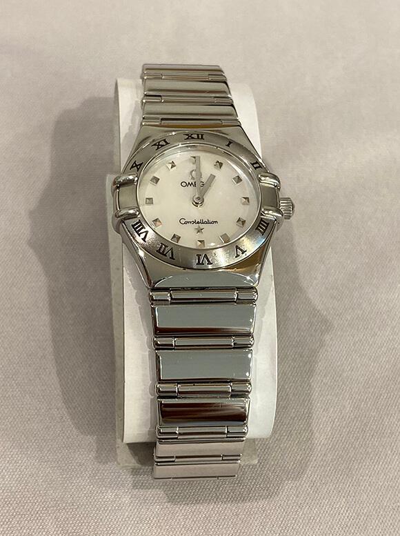 オメガ腕時計新品仕上げ修理後-1