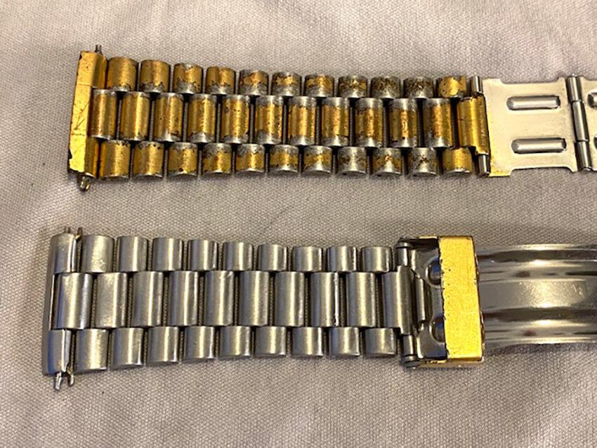 タグホイヤー腕時計ベルト研磨