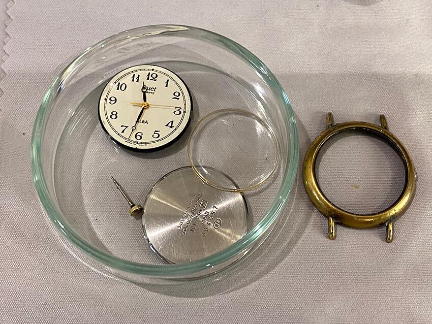 アルバ腕時計パーツ