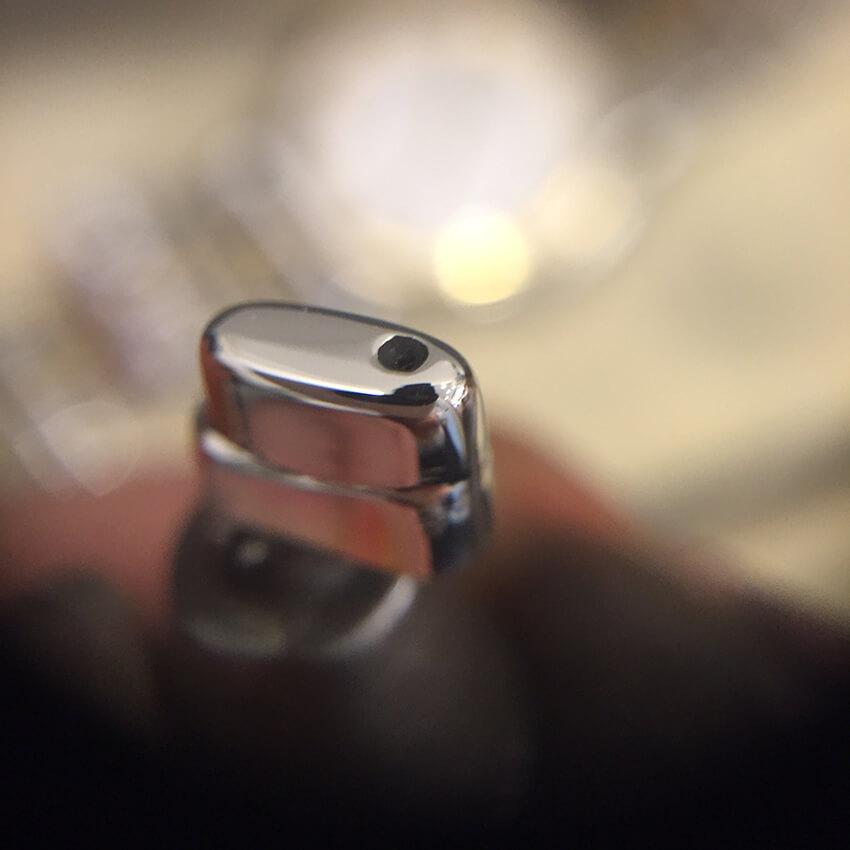 クレドール腕時計ベルトコマ作成-5