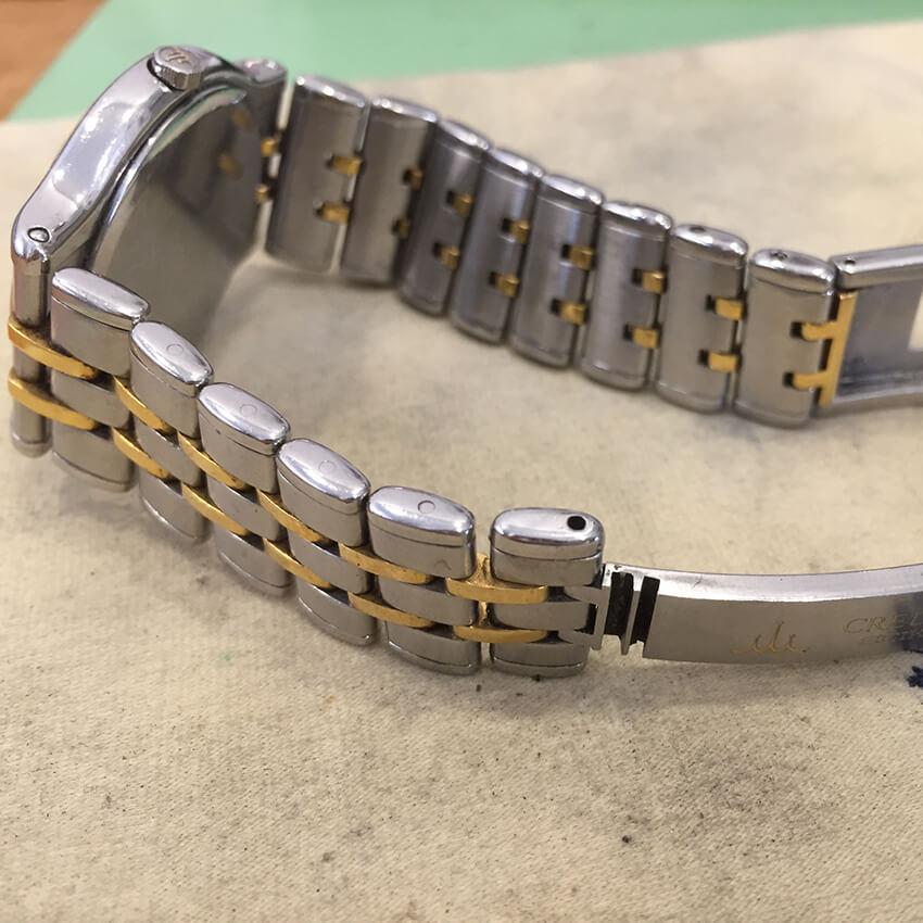 クレドール腕時計ベルトコマ作成完成