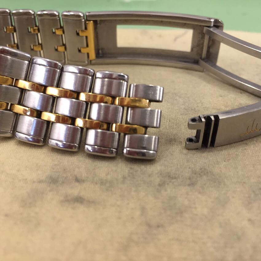 クレドール腕時計ベルトコマ不足