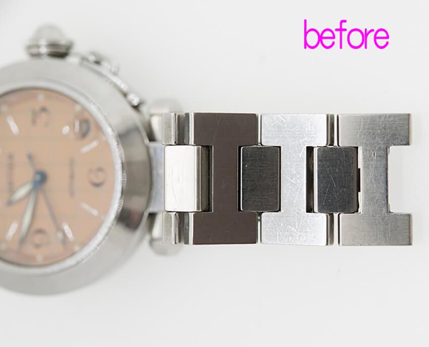 カルティエ時計修理前-2