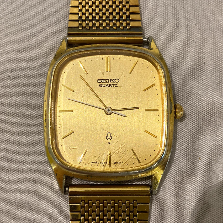 想い出のセイコーの腕時計