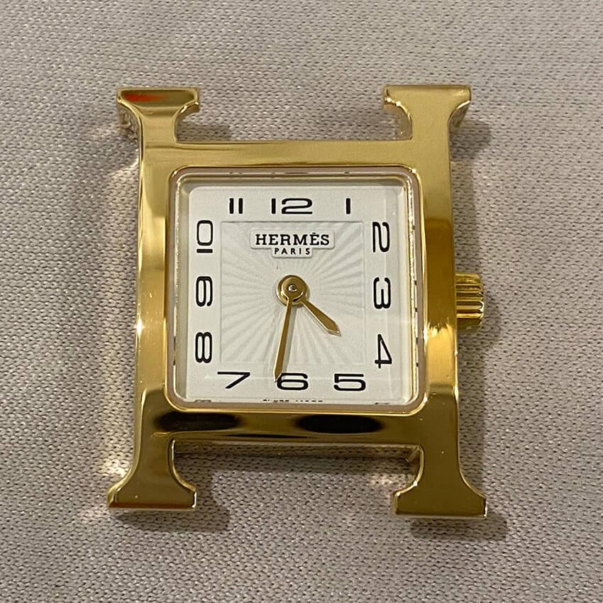 エルメス時計修理後表面