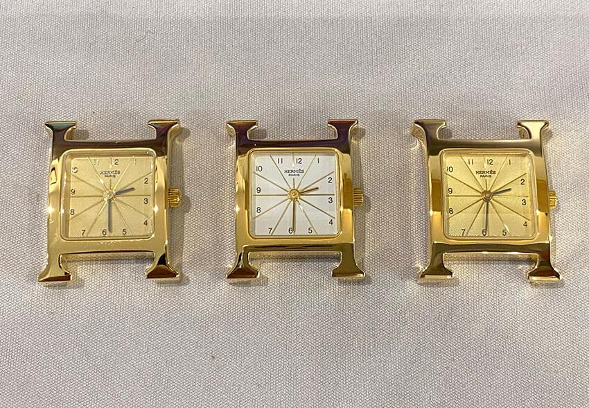 エルメス腕時計修理完成
