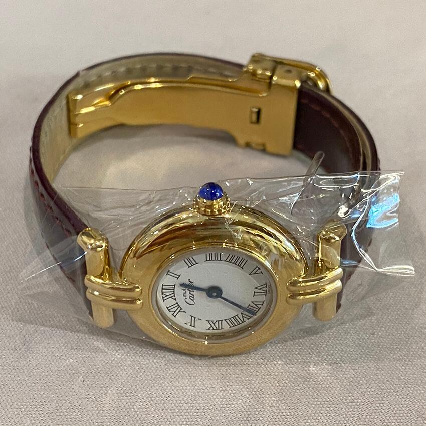 カルティエ時計修理後の画像