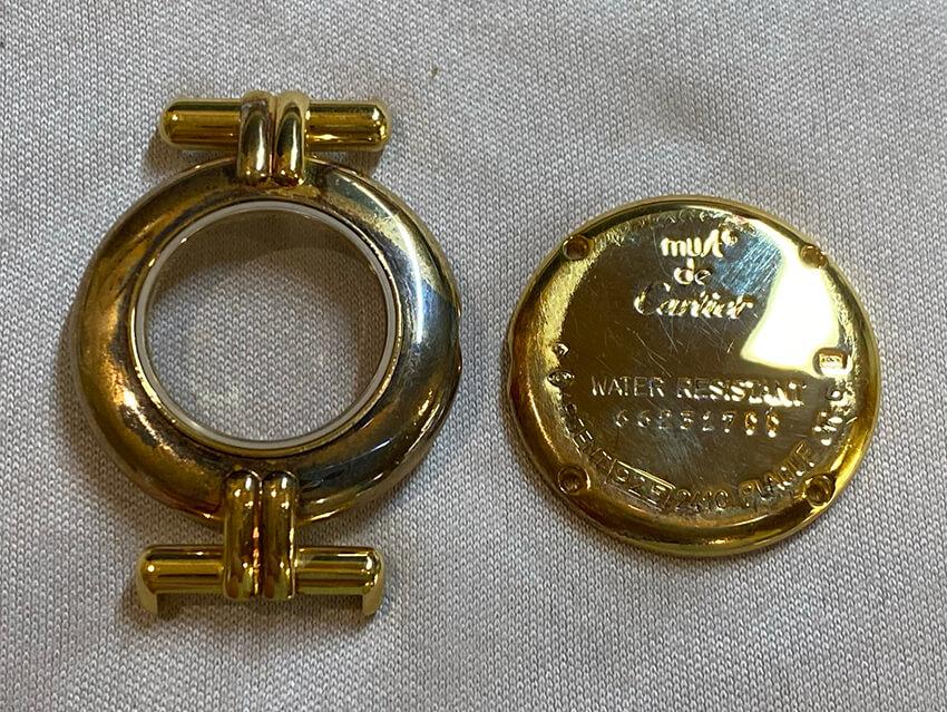 カルティエ時計修理前の画像