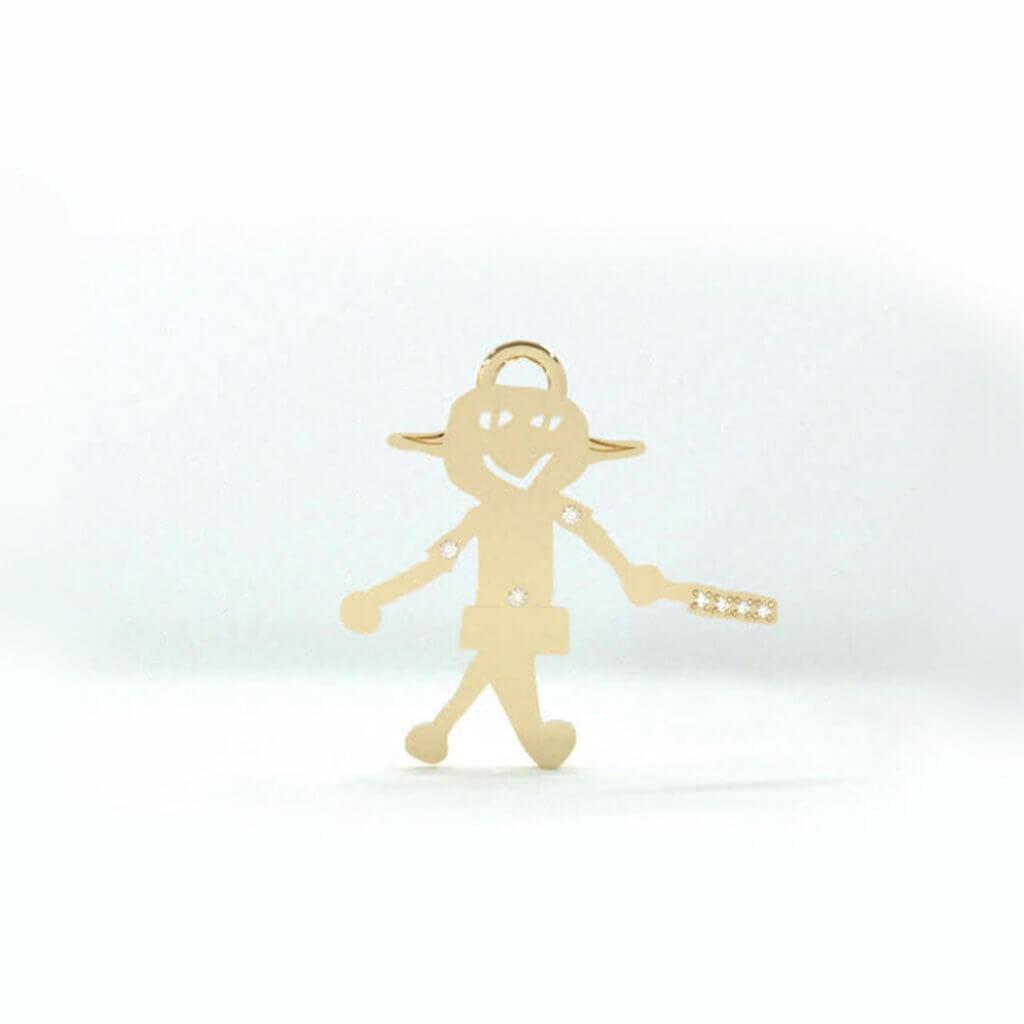 エイリアンペンダントのCGデザイン画