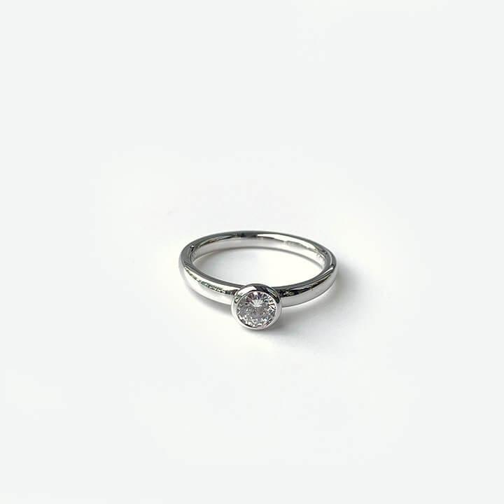 婚約指輪リフォーム後
