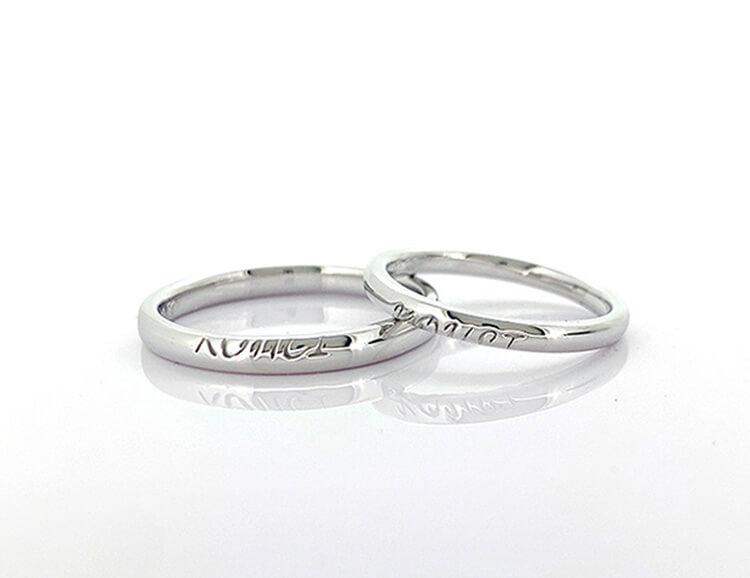 結婚指輪完成品