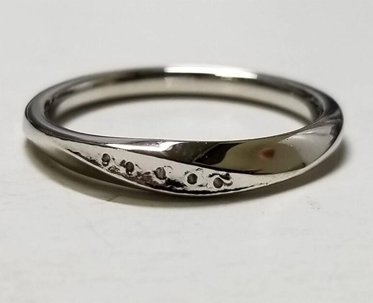 結婚指輪リフォーム工程